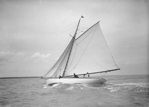 Cutting「The Cutter Nanette Sailing Close-Hauled」:写真・画像(6)[壁紙.com]
