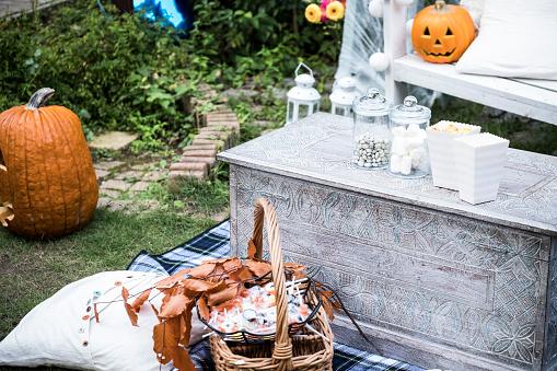 ハロウィンパーティー「ハロウィーンのオブジェクト。」:スマホ壁紙(19)