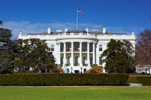 Politics「White House at midday」:スマホ壁紙(17)