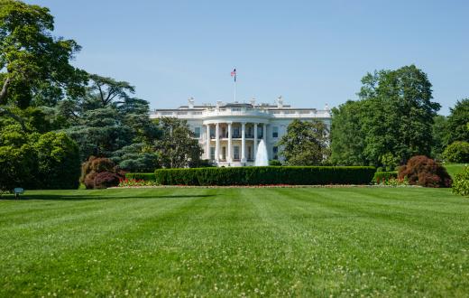 Politics「White House in Washington, D.C. USA」:スマホ壁紙(19)
