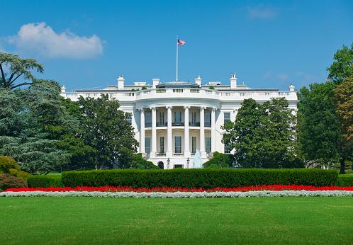 ワシントンDC「White house」:スマホ壁紙(11)
