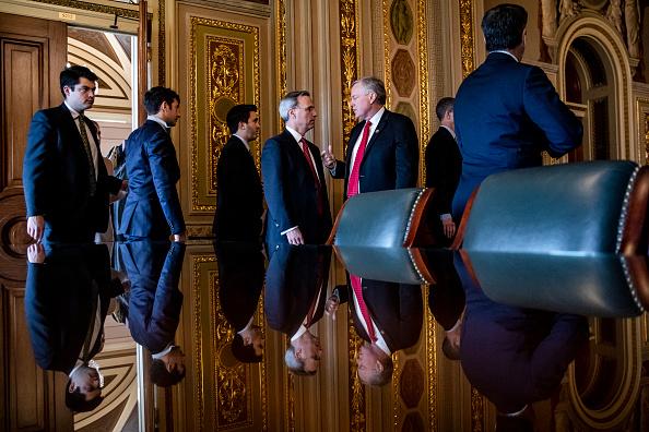 Meeting「Senate Impeachment Trial Of President Trump Continues」:写真・画像(15)[壁紙.com]