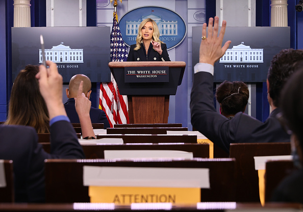 Minnesota「Press Secretary Kayleigh McEnany Holds Press Briefing At White House」:写真・画像(14)[壁紙.com]
