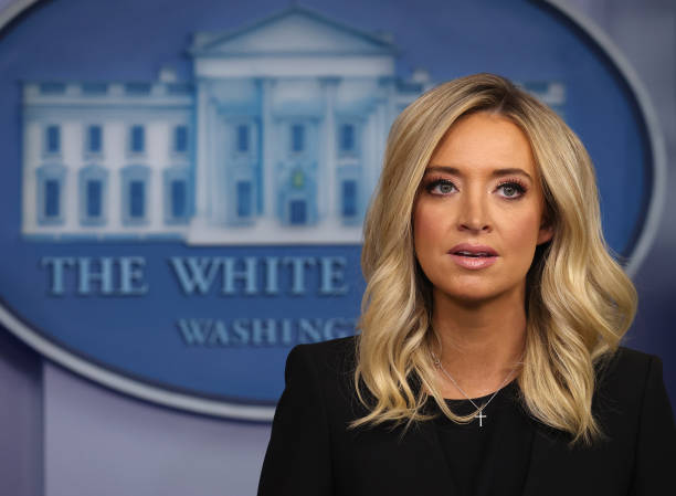 White House Press Secretary Kayleigh McEnany Holds Press Briefing At The White House:ニュース(壁紙.com)