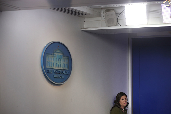Press Room「Press Secretary Sarah Sanders Holds Media Briefing At The White House」:写真・画像(7)[壁紙.com]