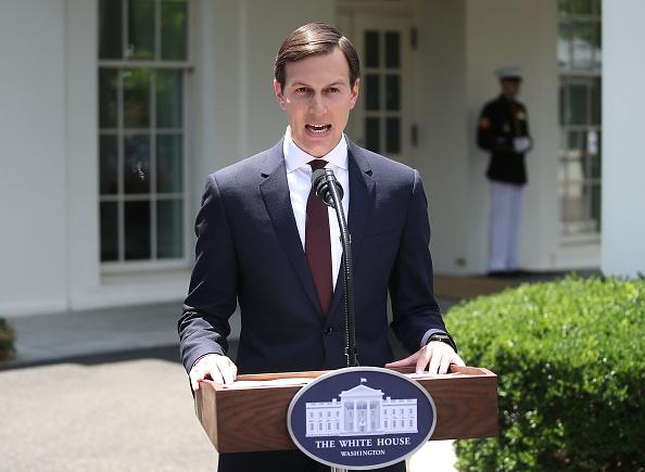 Waist Up「Jared Kushner Makes A Statement To The Media At The White House」:写真・画像(12)[壁紙.com]
