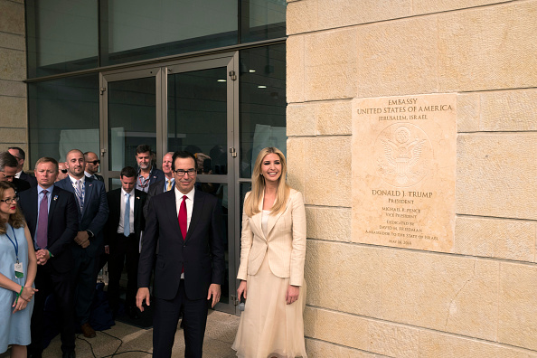 Jerusalem「U.S. Embassy Formally Opens In Jerusalem On 70th Anniversary Of State Of Israel」:写真・画像(6)[壁紙.com]