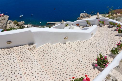 Aegean Sea「White houses on the coast of Aegean Sea」:スマホ壁紙(0)