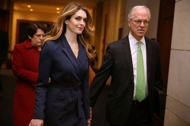 Bestpix「White House Communications Director Hope Hicks Is Interviewed By House Intelligence Committee During Russian Investigation」:写真・画像(19)[壁紙.com]