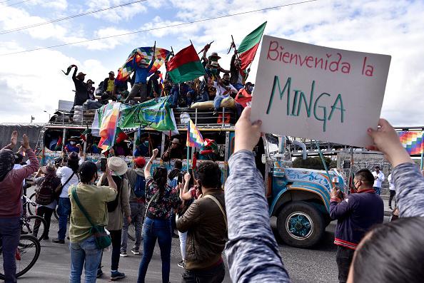 Indigenous Culture「Indigenous Colombians Continue Caravan to Bogota Demanding Meeting With Duque」:写真・画像(10)[壁紙.com]
