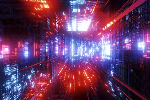 Data Center「Abstract structure」:スマホ壁紙(8)
