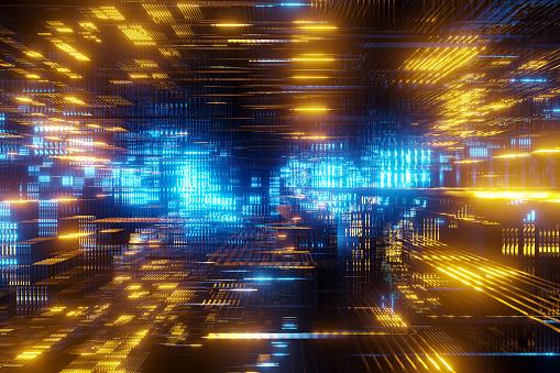 Data Center「Abstract structure」:スマホ壁紙(5)
