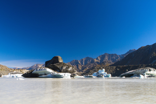 Mt Cook「A group tour through the glaciers of Mt. Cook」:スマホ壁紙(8)