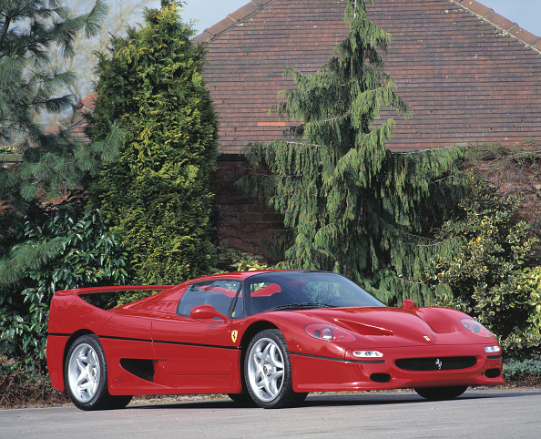 Finance and Economy「1996 Ferrari F50」:写真・画像(6)[壁紙.com]