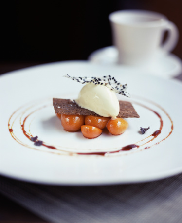 Black Sesame Seed「Ice cream and candied kumquats」:スマホ壁紙(5)