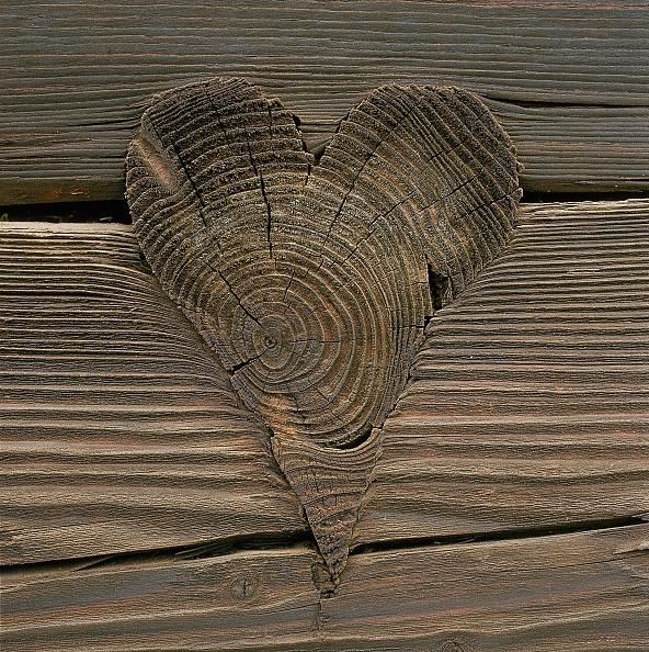 ハート「Artistically worked pin in wooden wall」:写真・画像(15)[壁紙.com]