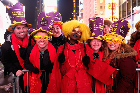 お正月「New Year's Eve 2017 In Times Square」:写真・画像(19)[壁紙.com]