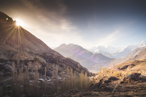 Himalayas「Autumn scenery in Pakistan」:スマホ壁紙(13)