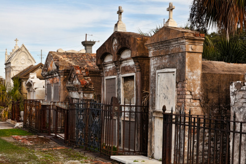 St「St. Louis Cemetery No. 1, New Orleans」:スマホ壁紙(10)
