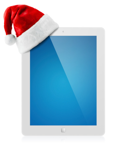 Touch Screen「Santa Hat and Digital Tablet」:スマホ壁紙(15)