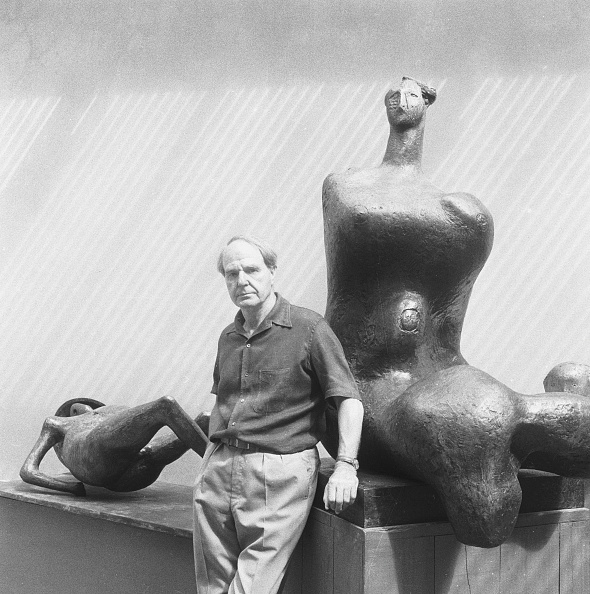 Sculpture「Moore In His Studio」:写真・画像(15)[壁紙.com]