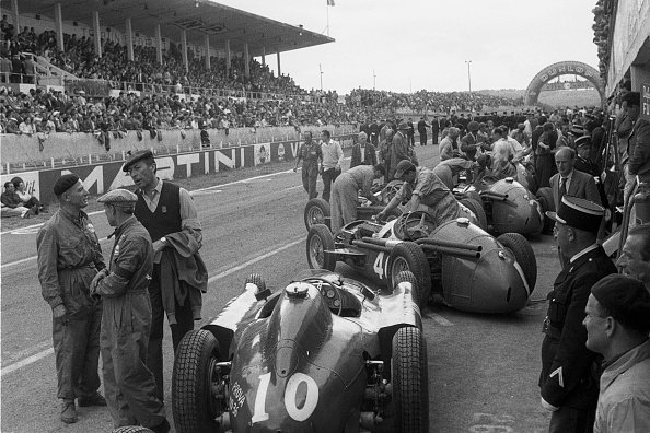 Grand Prix Motor Racing「Juan Manuel Fangio, Grand Prix Of France」:写真・画像(15)[壁紙.com]