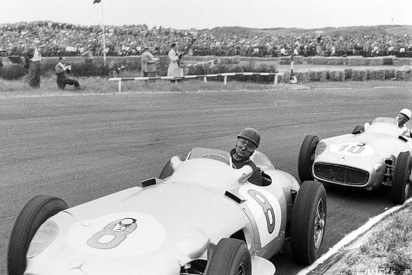 Motorsport「Juan Manuel Fangio, Stirling Moss, Grand Prix Of Netherlands」:写真・画像(8)[壁紙.com]