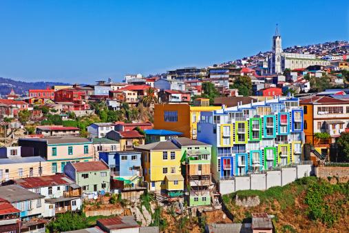 UNESCO「View of Valparaíso, Chile」:スマホ壁紙(17)
