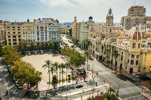 Archaeology「View of Valencia city」:スマホ壁紙(9)