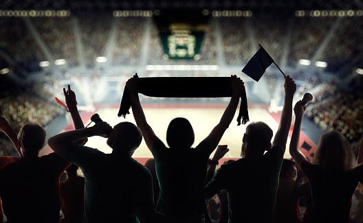 Fist「Hockey fans at stadium」:スマホ壁紙(14)