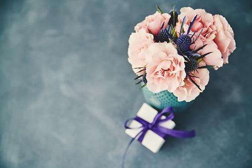Rose「母の日の贈り物に手作りのバラの花束」:スマホ壁紙(18)