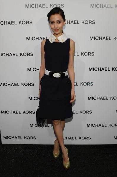 Angelababy「Michael Kors - Backstage - Fall 2013 Mercedes-Benz Fashion Week」:写真・画像(5)[壁紙.com]