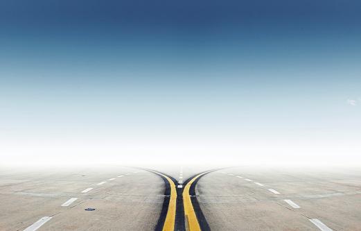 Dividing Line - Road Marking「Runway」:スマホ壁紙(13)