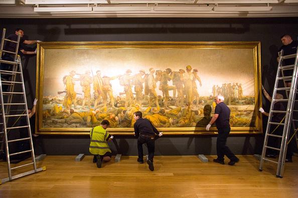 アート「Imperial War Museum Prepares Sargent's Gassed Painting For US Tour」:写真・画像(15)[壁紙.com]