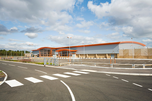 Empty「The new B&Q store development in Dover, built to replace the old store in the centre of the town with restricted access.  Located on the outskirts of Dover with ample parking and good links to the A2 the store is due to open in 2009.  The building was co」:写真・画像(6)[壁紙.com]