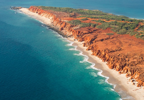 Kimberley「Aerial photo of Cape Leveque」:スマホ壁紙(1)