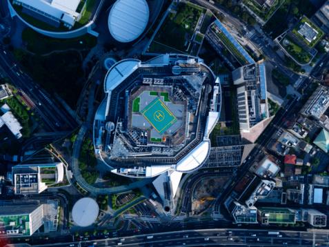 Minato Ward「Aerial photography of Roppongi」:スマホ壁紙(17)