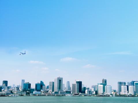 澄んだ空「Aerial photography of Tokyo」:スマホ壁紙(13)