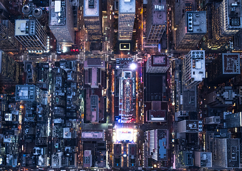 Election「Aerial photography of NY」:スマホ壁紙(3)