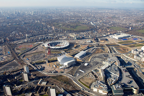 2012 Summer Olympics - London「Aerial Photography of Olympic Park, Stratford」:写真・画像(7)[壁紙.com]
