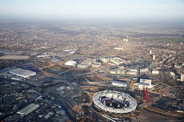 2012 Summer Olympics - London「Aerial Photography of Olympic Park, Stratford」:写真・画像(16)[壁紙.com]