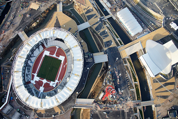 2012 Summer Olympics - London「Aerial Photography of Olympic Park, Stratford」:写真・画像(10)[壁紙.com]