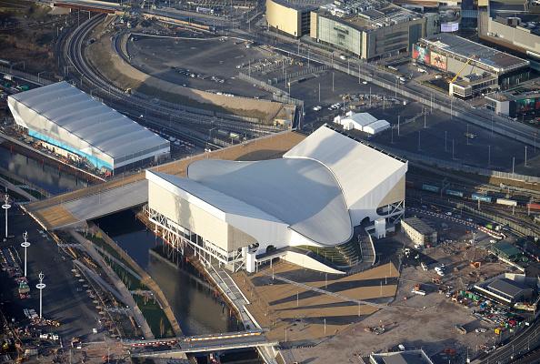 2012 Summer Olympics - London「Aerial Photography of Olympic Park, Stratford」:写真・画像(12)[壁紙.com]