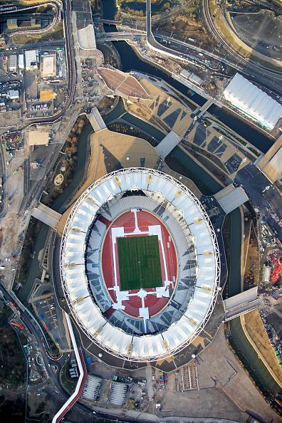 2012 Summer Olympics - London「Aerial Photography of Olympic Park, Stratford」:写真・画像(18)[壁紙.com]