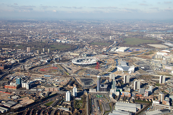2012 Summer Olympics - London「Aerial Photography of Olympic Park, Stratford」:写真・画像(16)[壁紙.com]