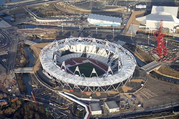 2012 Summer Olympics - London「Aerial Photography of Olympic Park, Stratford」:写真・画像(11)[壁紙.com]