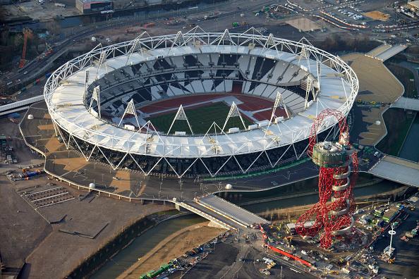 2012 Summer Olympics - London「Aerial Photography of Olympic Park, Stratford」:写真・画像(6)[壁紙.com]
