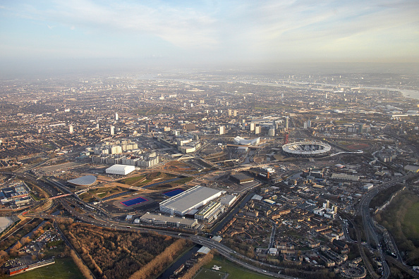 2012 Summer Olympics - London「Aerial Photography of Olympic Park, Stratford」:写真・画像(17)[壁紙.com]