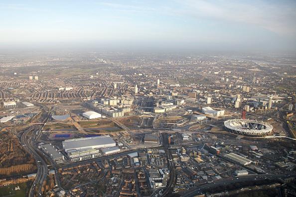 2012 Summer Olympics - London「Aerial Photography of Olympic Park, Stratford」:写真・画像(13)[壁紙.com]