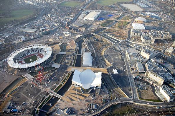 2012 Summer Olympics - London「Aerial Photography of Olympic Park, Stratford」:写真・画像(19)[壁紙.com]